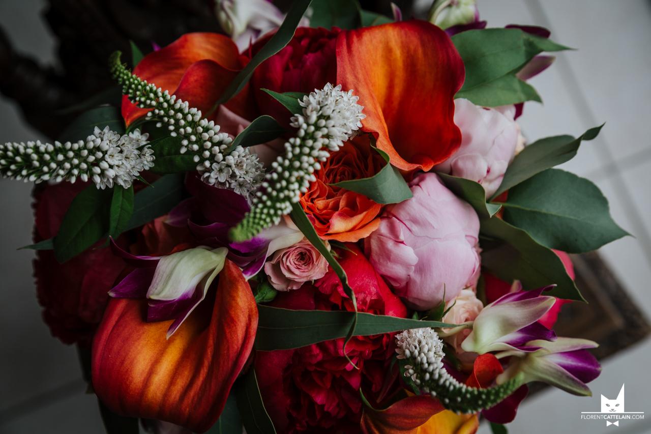 Bouquet coloré et chaud La Dolce Vita Organisation Mariage Toulouse.JPG