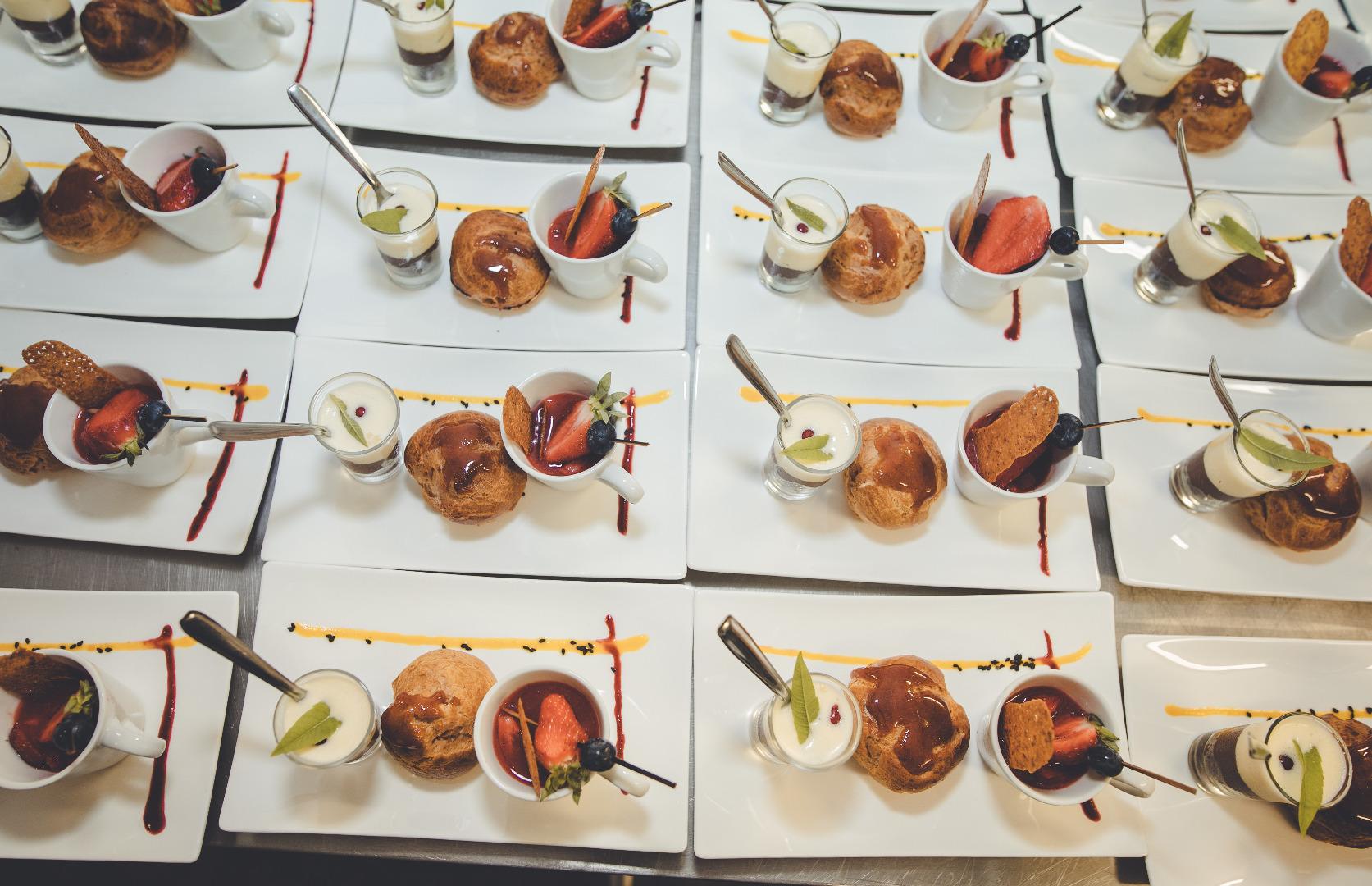 dessert café gourmand - mariage Château de Nolet - La Dolce Vità