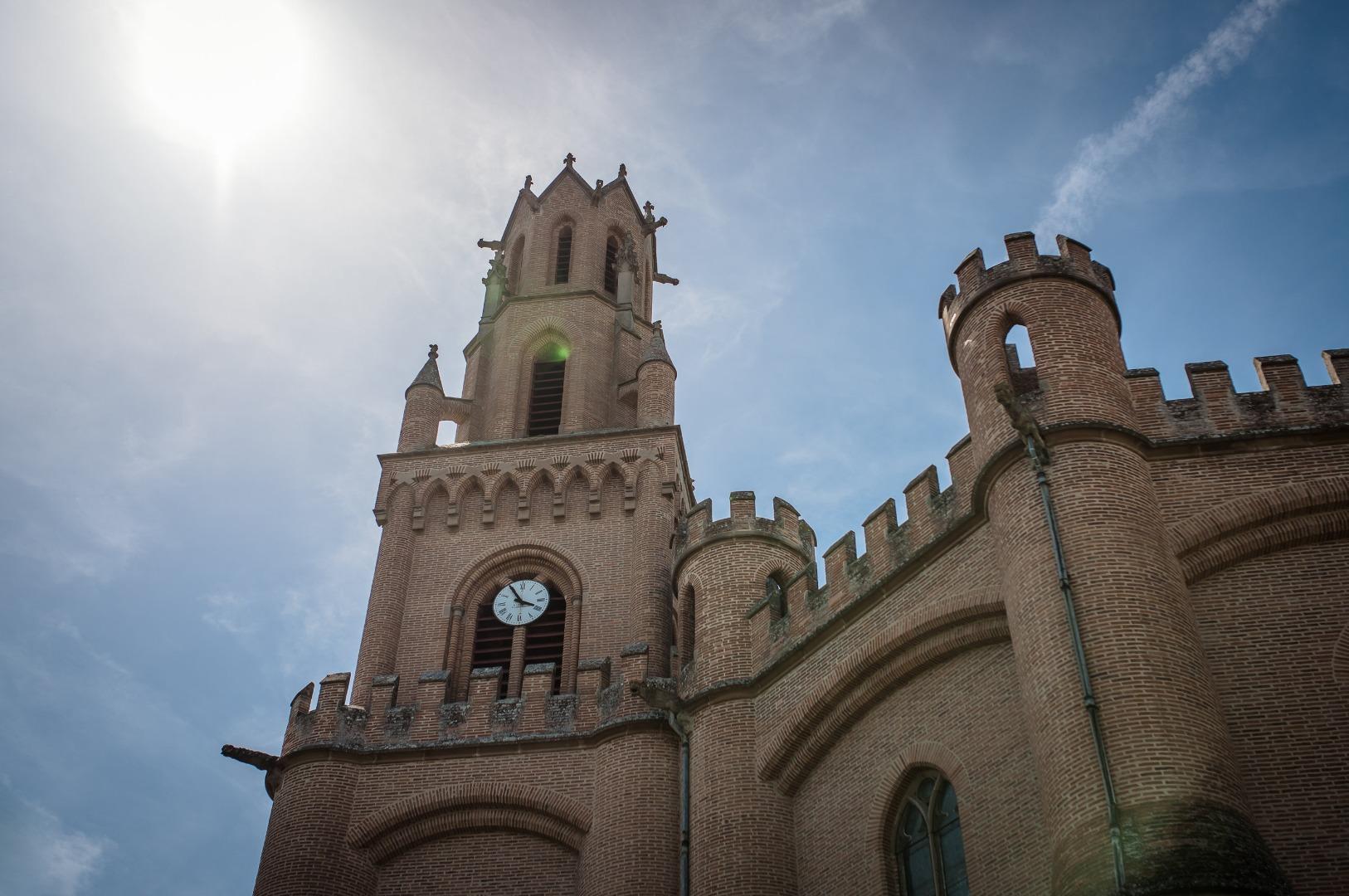 Eglise en Occitnaie La Dolce Vita Organisation de Mariages Toulouse.jpg