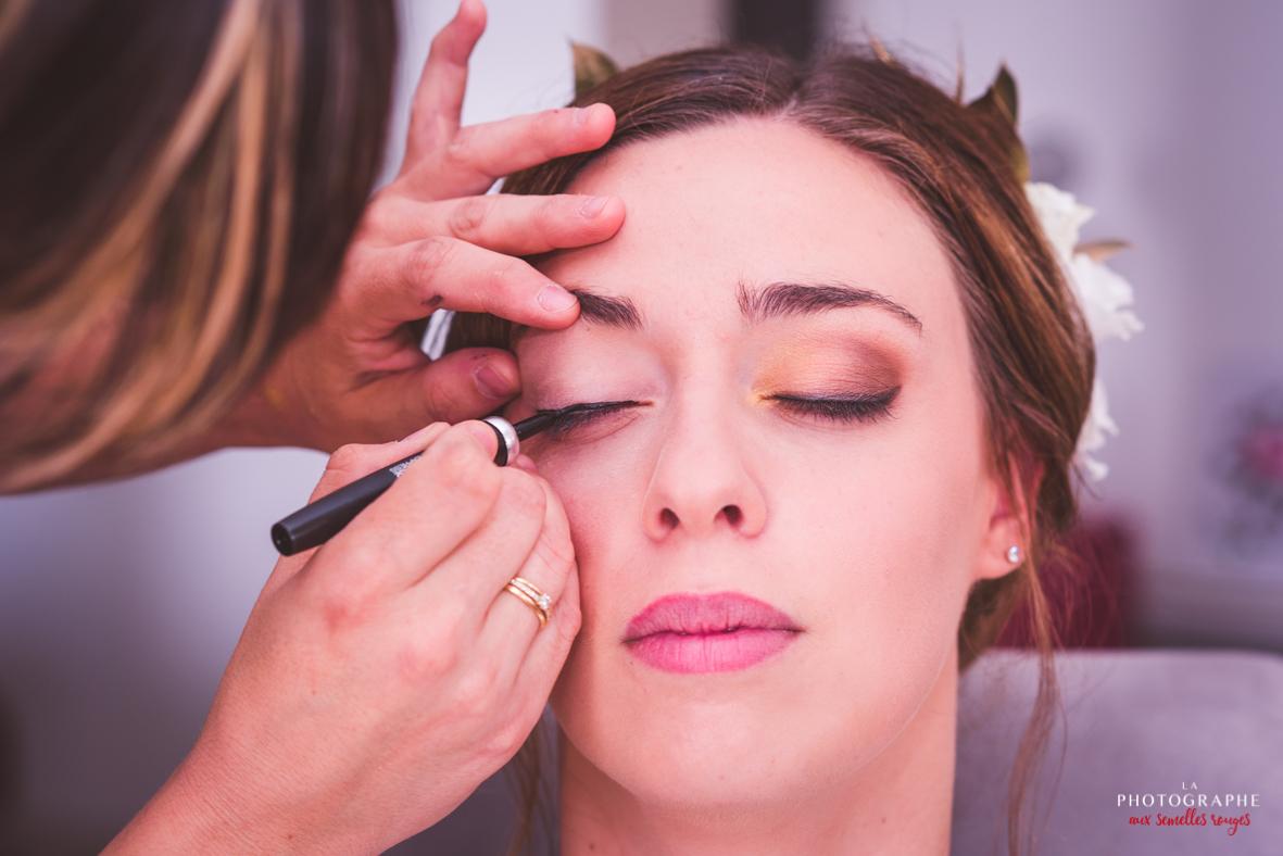 Eye liner sur maquillage nude La Dolce Vita Organisation Mariage Toulouse.jpg
