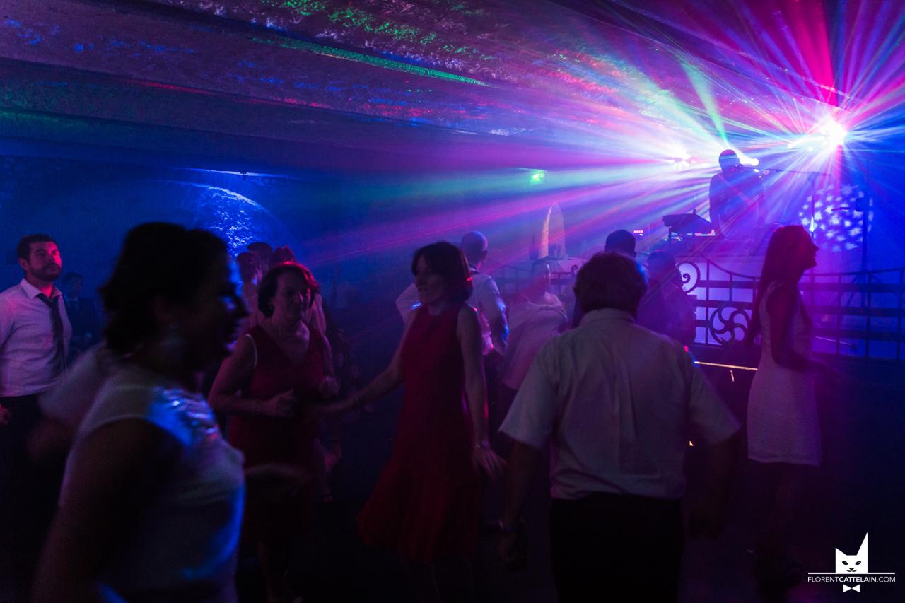 Laser de soirée de mariage