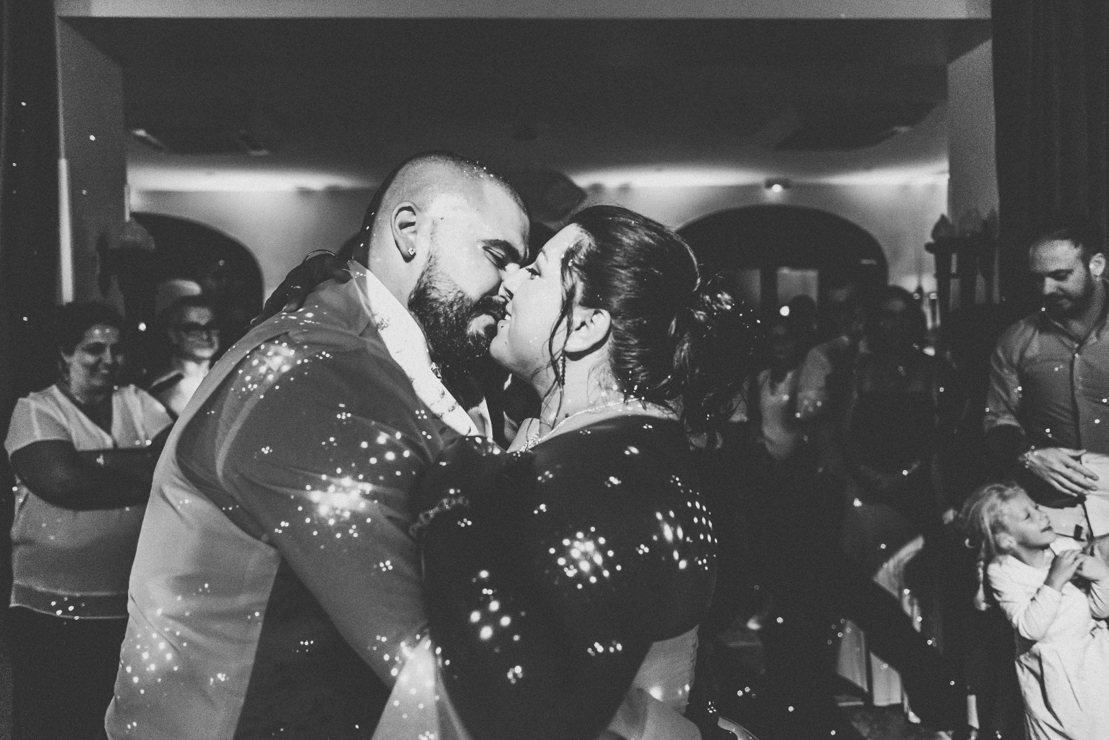 Mariés pendant l'ouverture de bal - La Dolce Vità, Domaine Beausoleil Toulouse