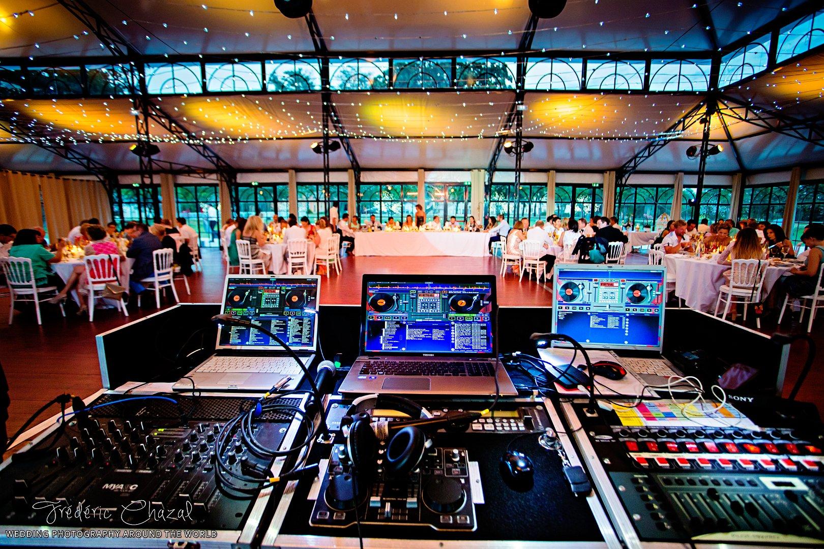 Platines de DJ mariage