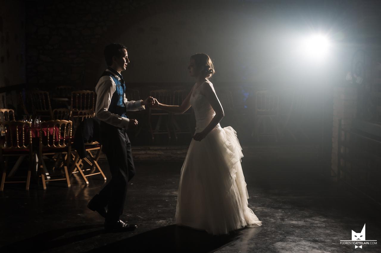 Répétition d'ouverture de bal