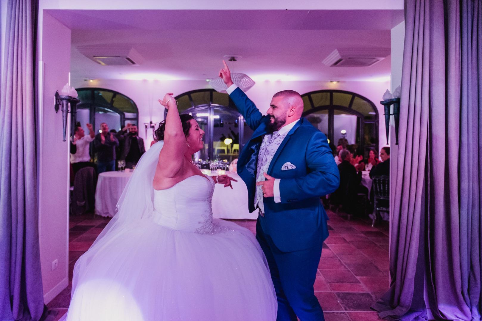 Soirée de danse des mariés avec La Dolce Vita au Domaine Beausoleil à Toulouse