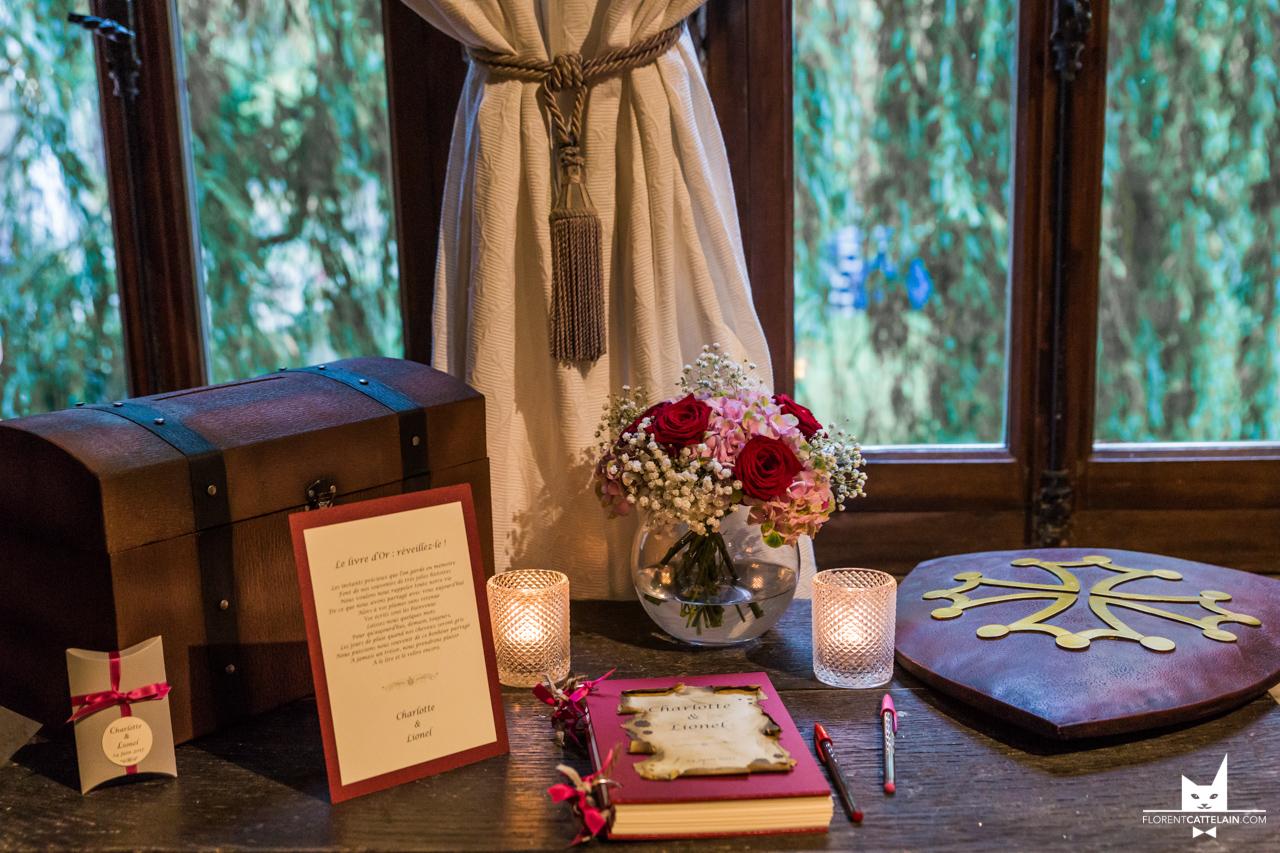 Table des dons rustique La Dolce Vita Organisation de Mariages Toulouse.jpg