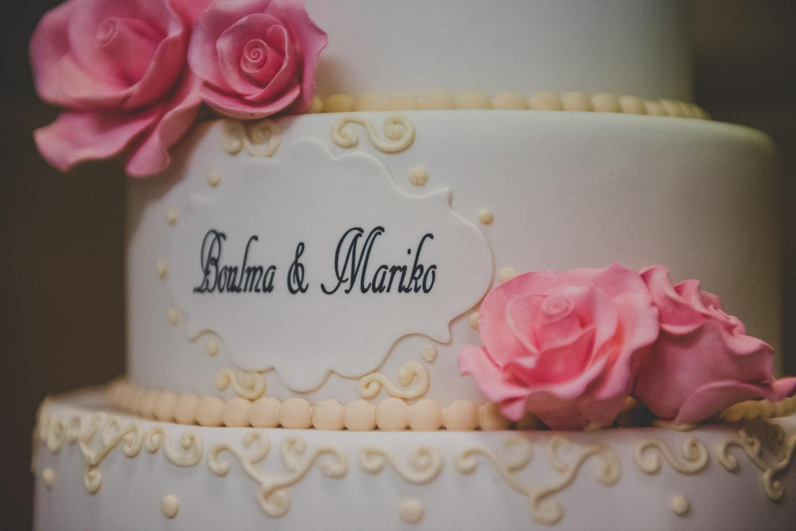 Wedding cake détails - Wedding planner La Dolce Vità, Château de Loubejac à Montauban
