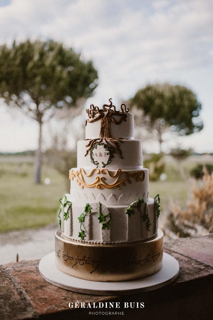 Wedding Cake Les Elfes Cakes Design