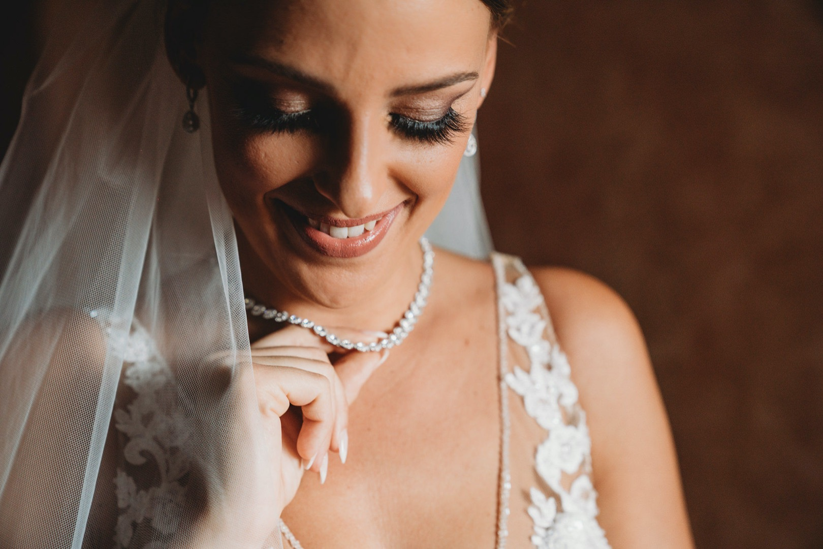maquillage faux cils mariage