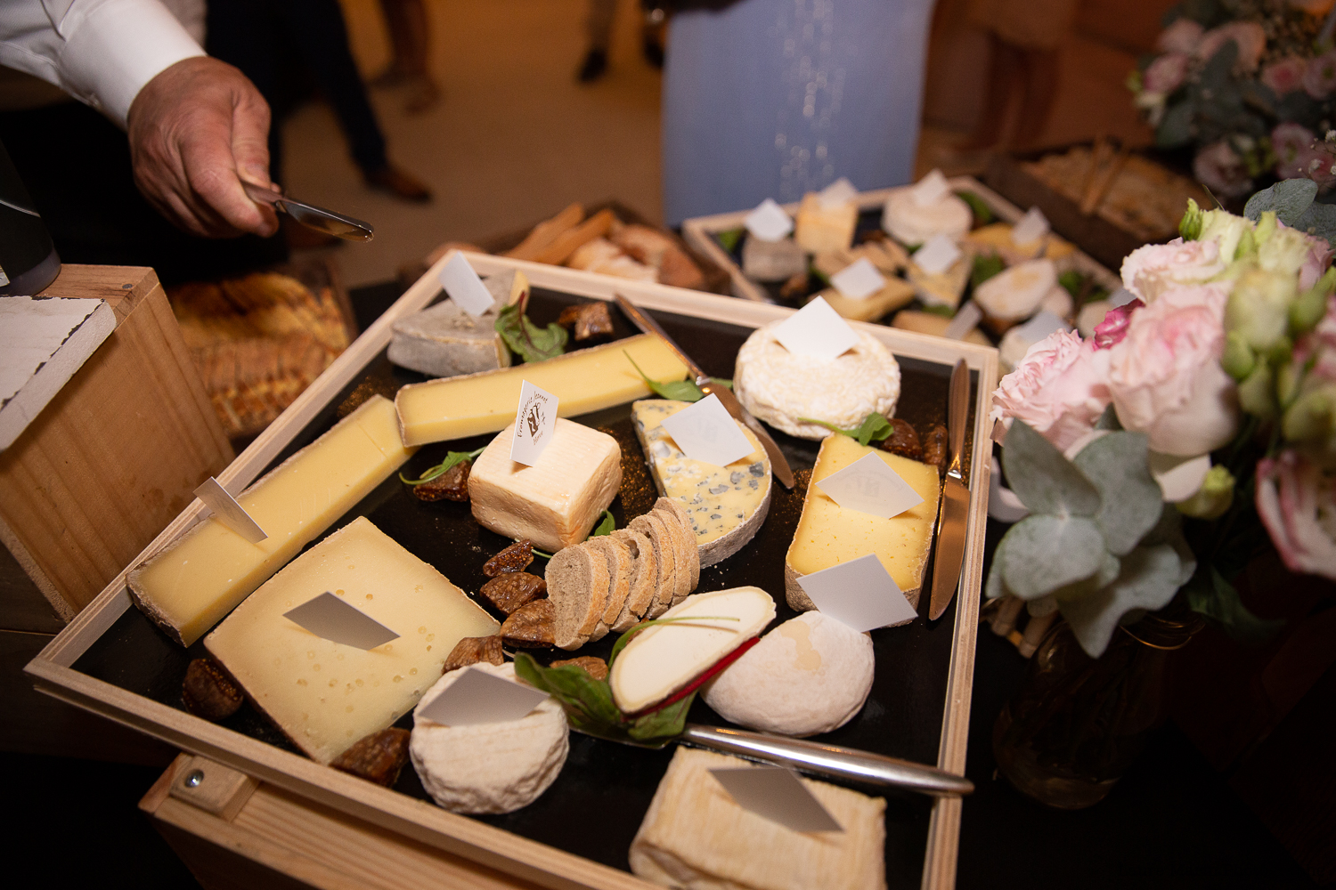 plateau fromage mariage